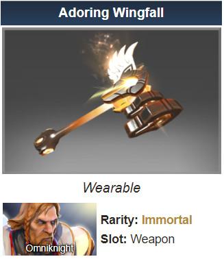 Adoring Wingfall (Immortal Omniknight)