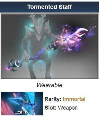 Inscribed Tormented Staff (Immortal Leshrac)