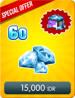 Top Up 60 Diamonds Special Offers