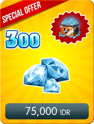 Top Up 300 Diamonds Special Offers