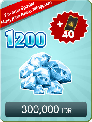 Top Up 1200 Diamonds Weekly Special Offers