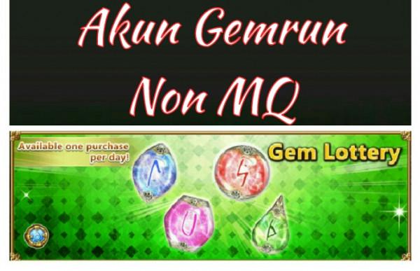 Akun Ultimate gem non MQ
