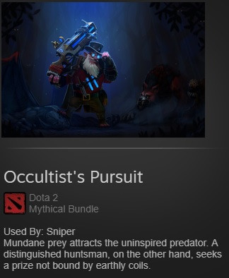 Occultist's Pursuit (Sniper Set)