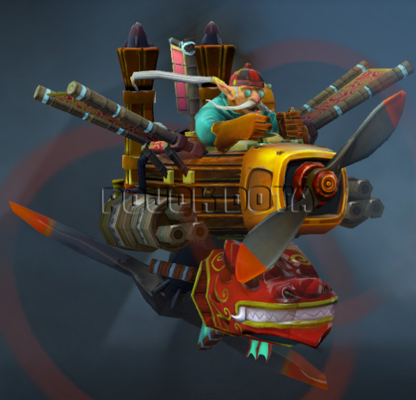 Armaments of the Dragon Emperor (Gyrocopter Set)