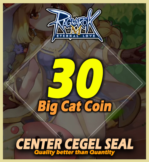 Top Up 30 Big Cat Coin