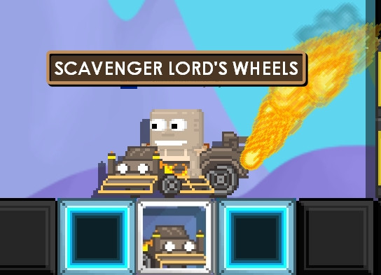 SCAVENGER LORD'S WHEELS