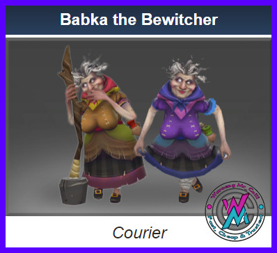 Babka The Bewitcher (Courier)