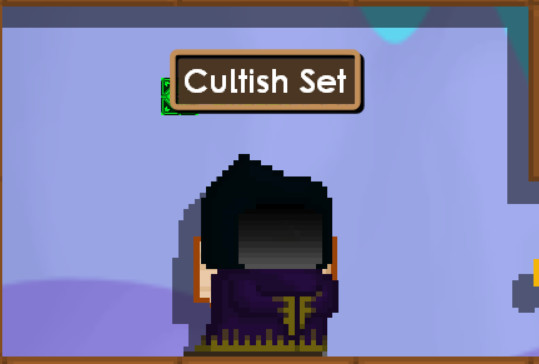 Cultish Robe + Hood / Cultish Set
