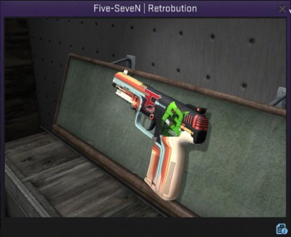 Five-SeveN | Retrobution + 2 sticker