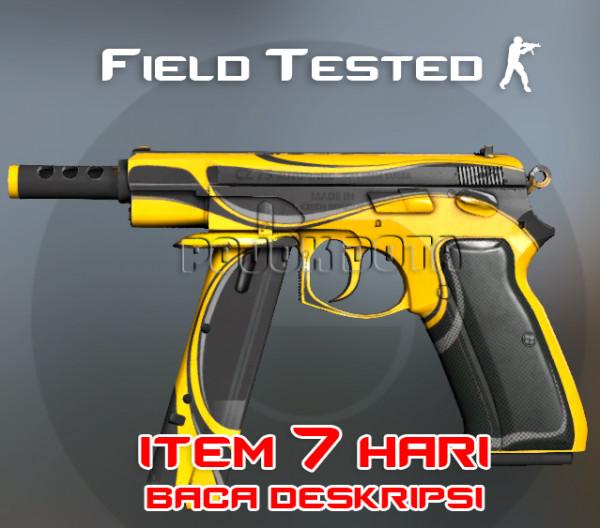CZ75-Auto   Yellow Jacket (Classified Pistol)
