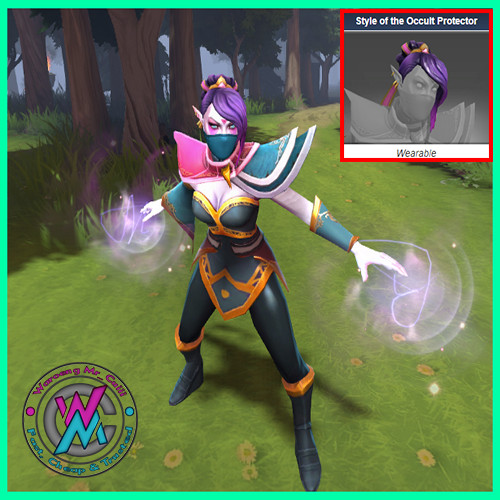 Style of the Occult Protector (Templar Assassin)