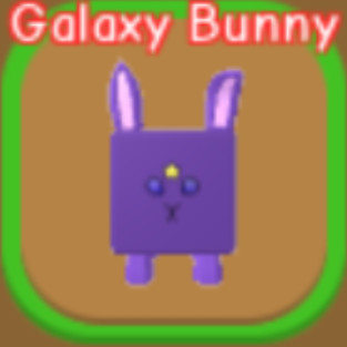 RPG World Overpowered Pet Galaxy Bunny (Baca Desk)