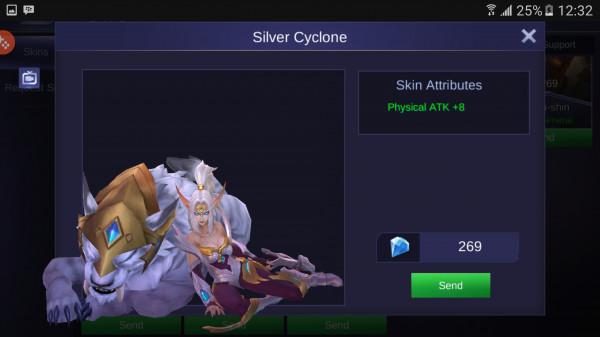 Silver Cyclone (Skin Irithel)
