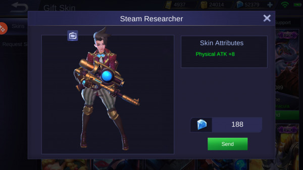 Steam Researcher (Skin Kimmy)