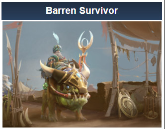 Barren Survivor (Chen Set)