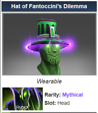 Hat of Fantoccini's Dilemma (Rubick)