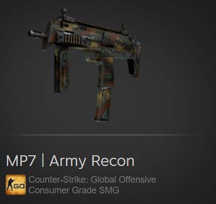 MP7 | Army Recon (Consumer Grade SMG)