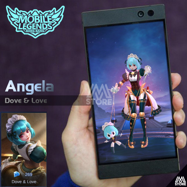 Dove of Love (Skin Angela)