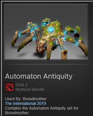 Automaton Antiquity (Broodmother TI9)