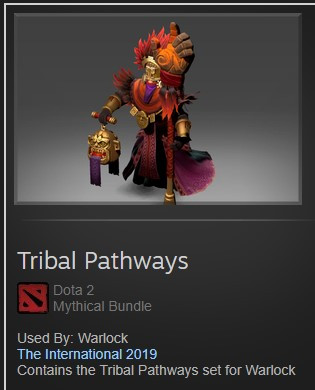 Tribal Pathways (Warlock TI9)