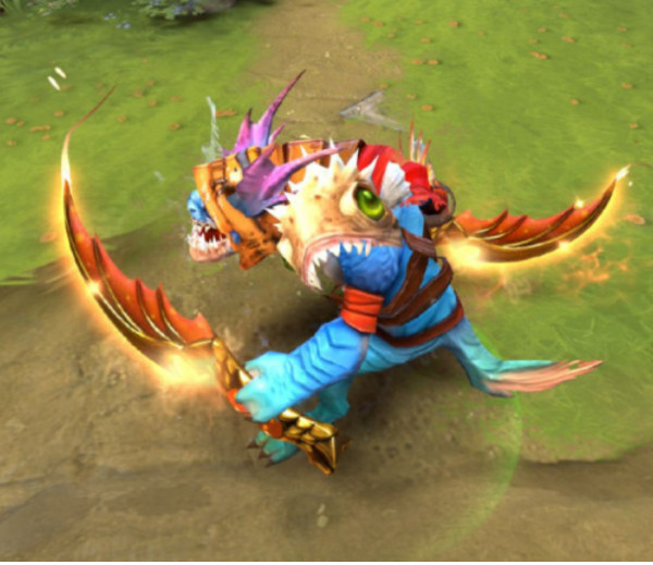 Golden Hydrakan Latch (Immortal Slark)