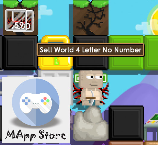 4 Letter World No Number Growtopia