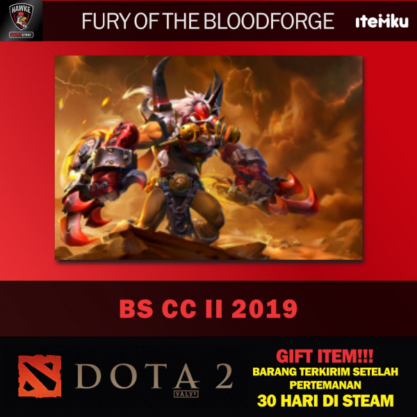 Fury of the Bloodforge (Bloodseeker CC II TI9)