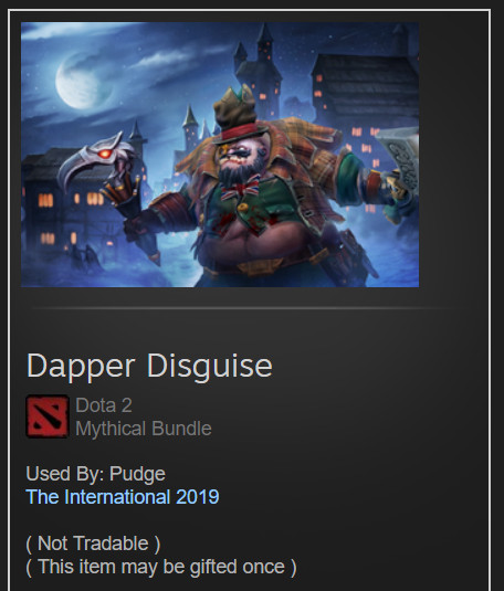 Dapper Disguise (Pudge Set)