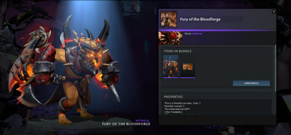 Fury of the Bloodforge (Bloodseeker Set)