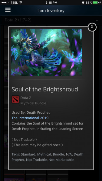 Soul of the Brightshroud (Death Phropet Set)