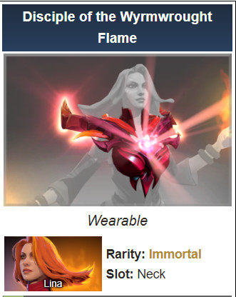 Disciple of the Wyrmwrought Flame (Immortal Lina)