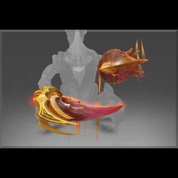 The Barren Vector (Immortal TI7 Sand King)