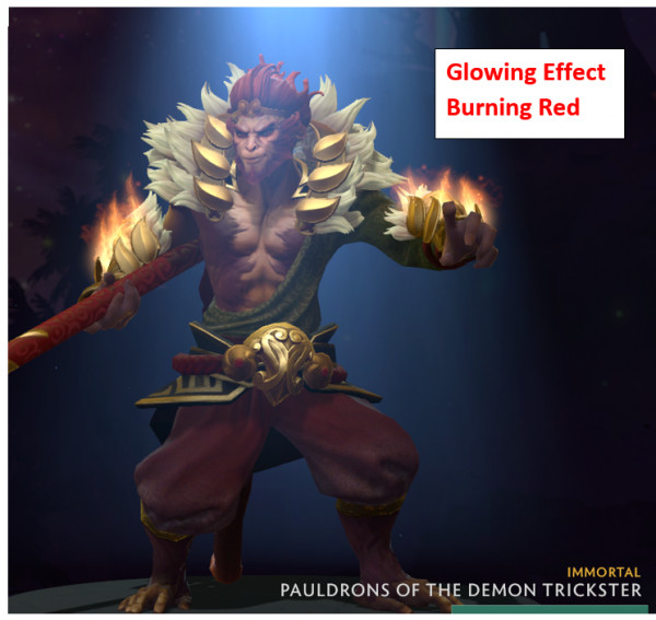 Pauldrons of the Demon Trickster (Immortal Monkey King)