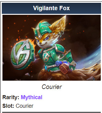 Vigilante Fox (Courier)