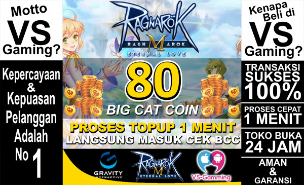 80 Big Cat Coin