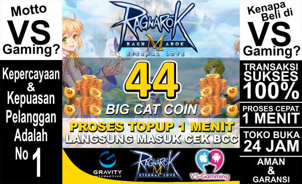 44 Big Cat Coin