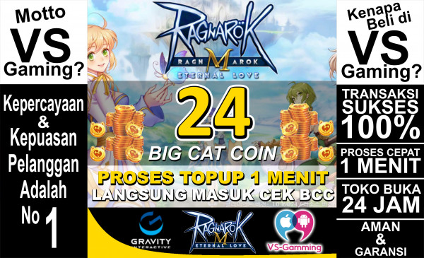 24 Big Cat Coin