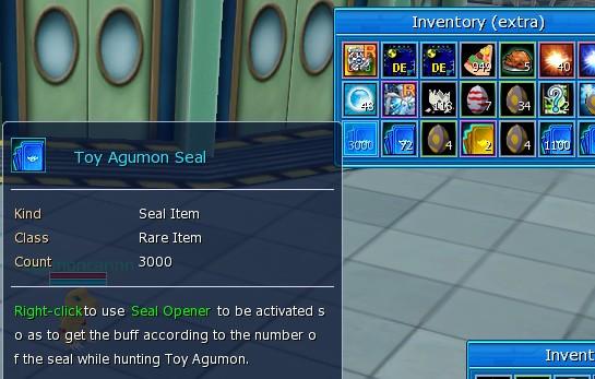 [Toy Agumon] seal x 1000