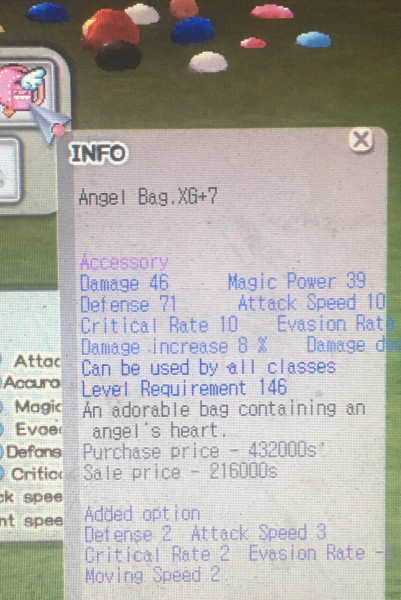 Angel Bag XG