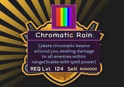 Chromatic Rain