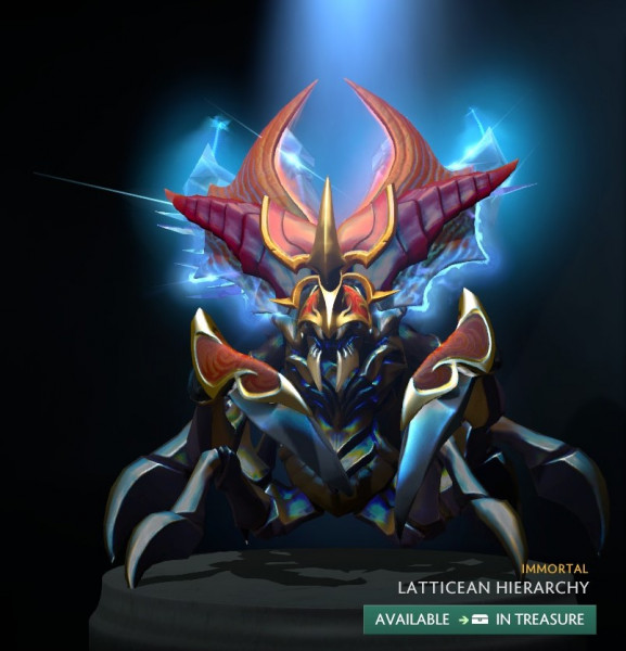Latticean Hierarchy (Immortal TI9 Nyx Assassin)