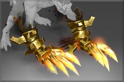 Golden Dread Requisition (Immortal TI9 Lifestealer)