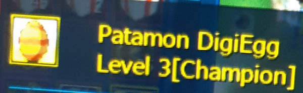 Patamon level 3(3/5)
