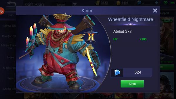 Wheatfield Nightmare (Special Skin Franco)