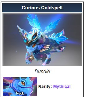 Curious Coldspell (Puck Set)