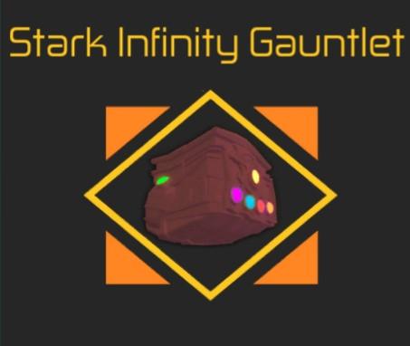 Stark Infinity Gauntlet (Unobtainable)   Heroes On