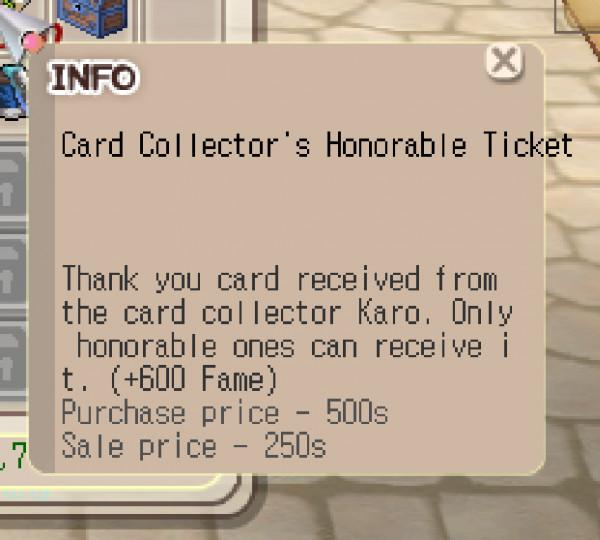 FAME CARD +600