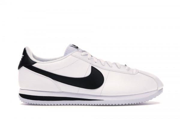 Leather White Black