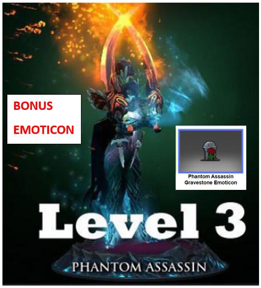 LVL 3 Exalted Manifold Paradox (Phantom Assassin)