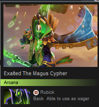 Exalted The Magus Cypher (Arcana Rubick)